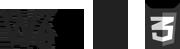 W3C HTML5 CSS3
